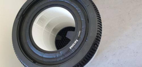 Philips AC0820/10 von innen mit Filter